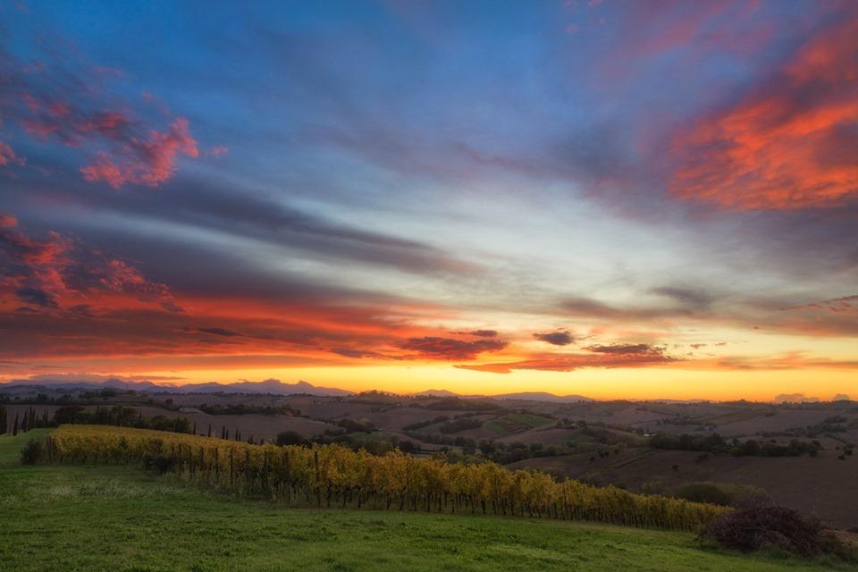I tramonti di Morro d'Alba